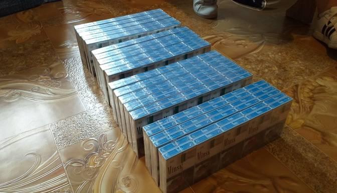 Tiesai nodod lietu pret deviņām personām par vērienīgu cigarešu kontrabandas organizēšanu Daugavpils novadā
