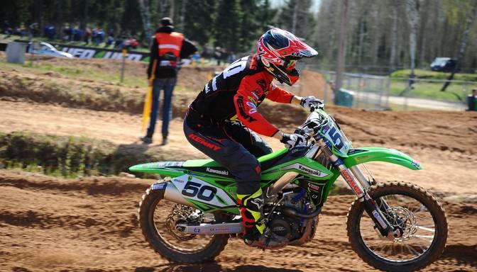 """Motokrosists Macuks """"EMX Open"""" klases kvalifikācijā izcīna sesto vietu"""