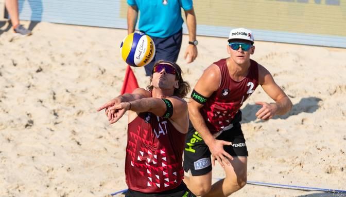TIEŠRAIDE. Eiropas čempionāts pludmales volejbolā. 5.diena