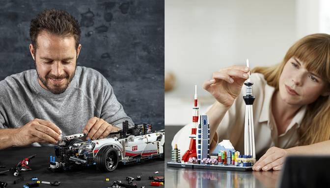 Pieaugušo spēlītes jeb advancētie LEGO Adults sērijas komplekti – brīvā laika izklaide ar pievienoto vērtību