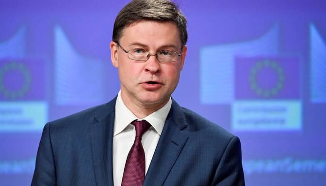 Dombrovskis: Ir labs pamats ekonomikas atlabšanai jau tuvākajos ceturkšņos