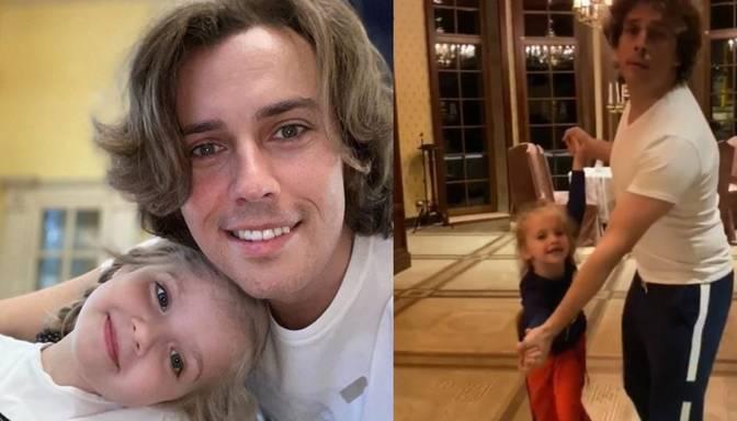 Video: Maksims Galkins kopā ar meitu Ļizu ļaujas tango vilinājumam