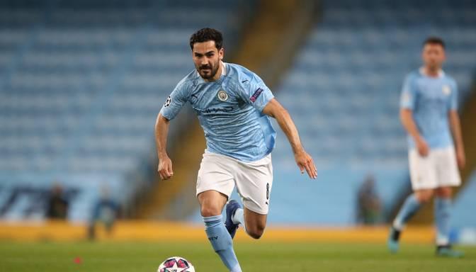 """""""Manchester City"""" spēlētājam Gindoganam noteikta saslimšana ar Covid-19"""