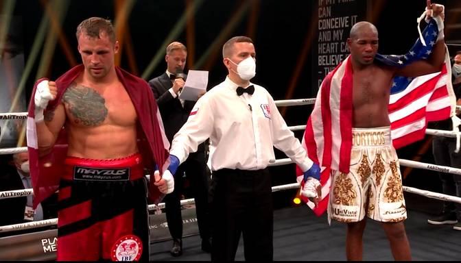 Mairis Briedis uzvar Dortikosu, iegūst WBSS Muhameda Ali trofeju un IBF čempiona titulu