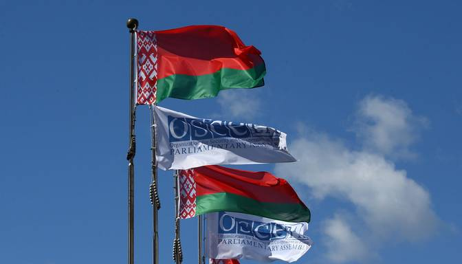 17 valstis iniciē EDSO izmeklēšanu par cilvēktiesību pārkāpumiem Baltkrievijā