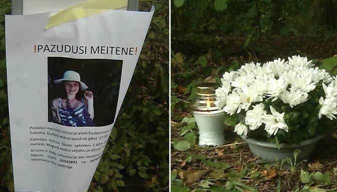 Durbes pils parkā atrasta noslepkavota jauniete
