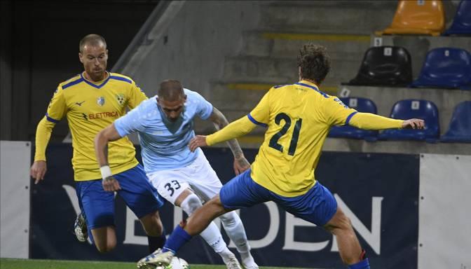 """""""Riga"""" un """"Tre Fiori"""" spēle UEFA Eiropas līgā pārtraukta"""