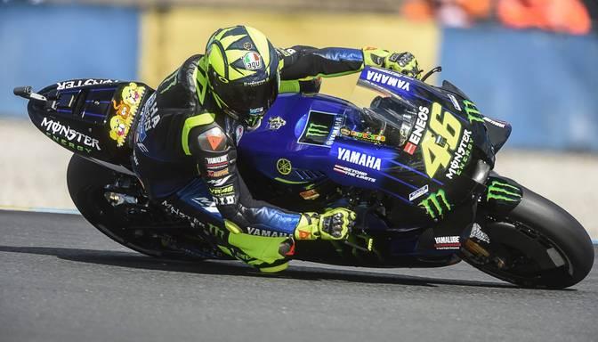 Arī MotoGP leģendai Valentino Rosi pozitīvs Covid-19 tests