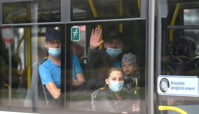 Rīgas pašvaldības policija janvārī konstatējusi 59 sejas masku lietošanas pārkāpējus, kas ir mazāk nekā decembrī