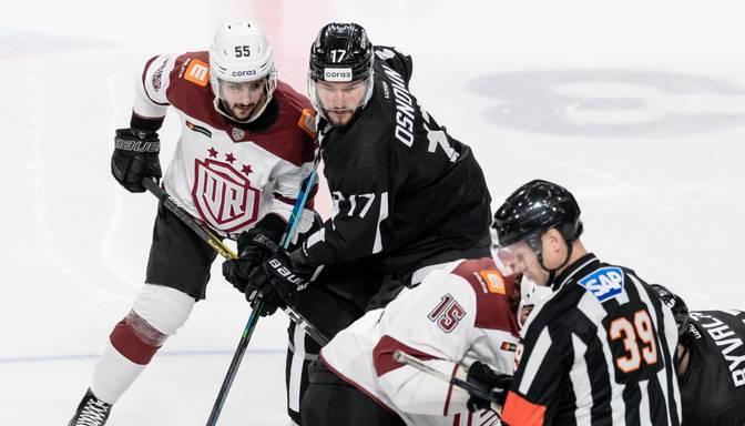 """Rīgas """"Dinamo"""" izbraukuma otrajā spēlē pārliecinoši zaudē Čeļabinskas """"Traktor"""""""