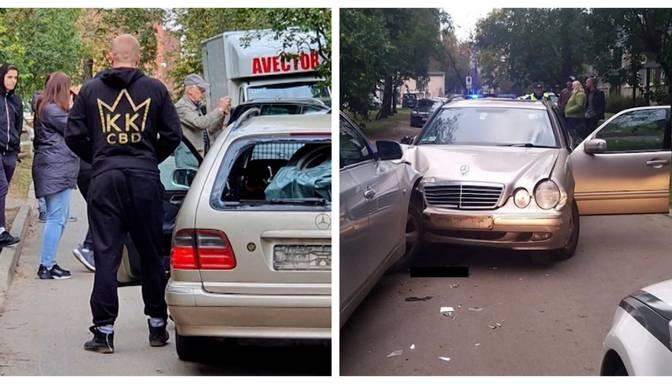 Grūti izskaidrojama rīcība: neadekvāts vīrietis Ķengaragā apskādē sešus auto