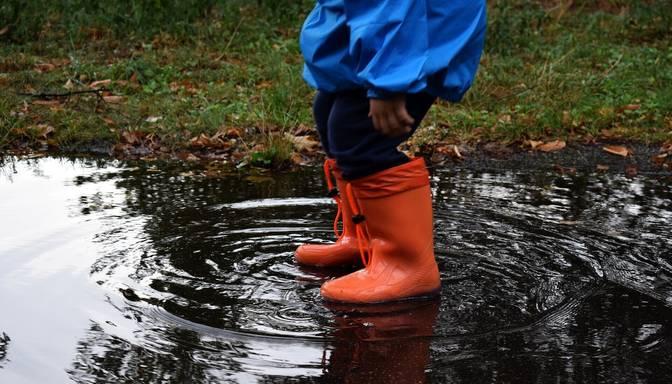 Sestdien daudzviet Latvijā gaidāms lietus