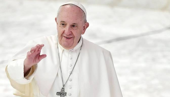 Pāvests nerīkos publiskās audiences