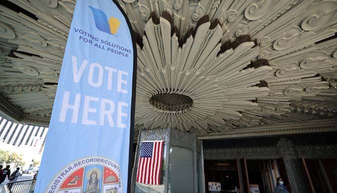 ASV prezidenta vēlēšanu iepriekšējā balsošanā nobalsojuši jau vairāk nekā 70 miljoni amerikāņu