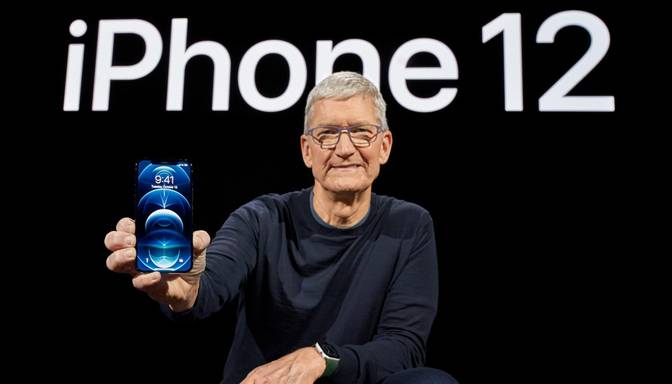 """""""Apple"""" nāk klajā ar četriem jauniem """"iPhone"""", kas piemēroti 5G standartam"""