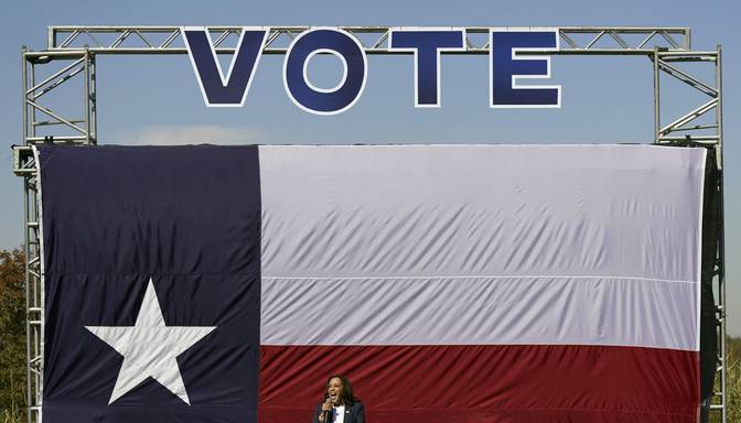 Teksasā iepriekšējā balsošanā nobalsojuši vairāk vēlētāju nekā 2016.gada vēlēšanās kopumā
