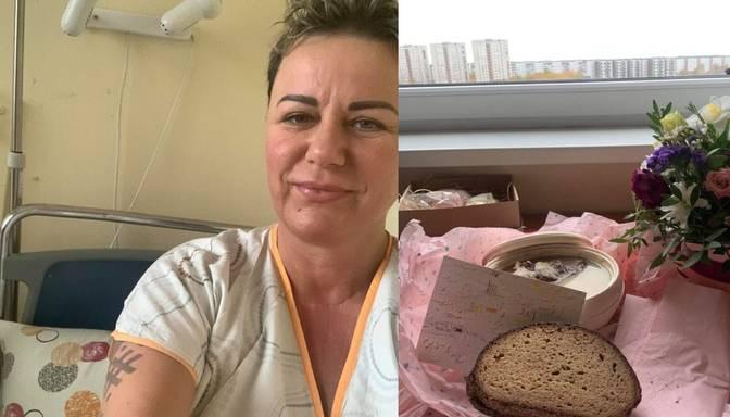 Linda Mūrniece, guļot slimnīcas gultā, atklāj jaunumus par veselības stāvokli