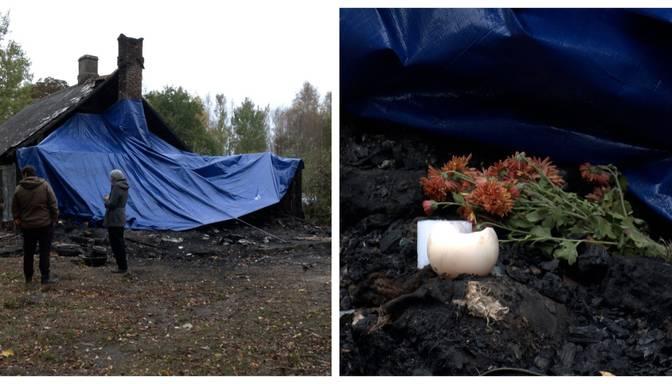 Mēdza krāsnī kurināt plastmasas pudeles: ugunsgrēkā Grobiņas novadā dzīvību zaudē sirmgalvis un viņa mājdzīvnieki