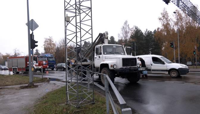 Pirms Salaspils notikusi iepaidīga avārija