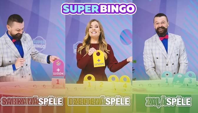 """Tā tik ir spēle! """"SuperBingo"""" krāsu spēlēs – visās lielie laimesti"""