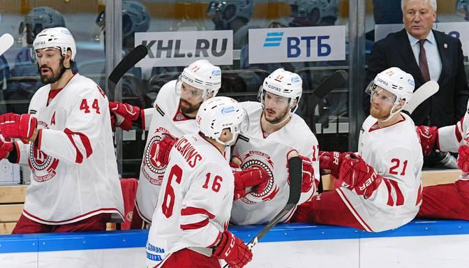 """Daugaviņš turpina krāt rezultativitātes punktus, """"Vityaz"""" izbraukumā zaudē """"Torpedo"""""""