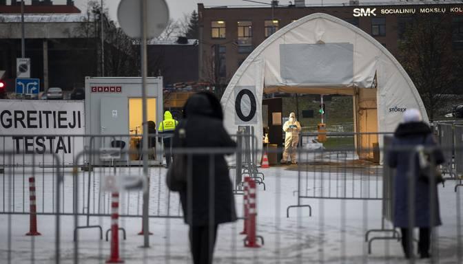 Lietuvā ar jauno koronavīrusu inficējušies vēl 1232 cilvēki; Igaunijā – vēl 603