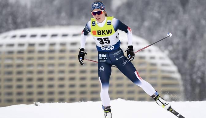 Eidukai septītā vieta desmit kilometros brīvajā stilā pasaules U23 čempionātā