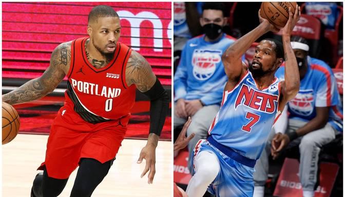 Lilards un Durants atzīti par NBA nedēļas labākajiem spēlētājiem