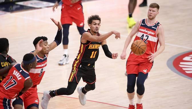 """Bertāns atgriežas laukumā """"Wizards"""" zaudējumā Atlantas """"Hawks"""""""
