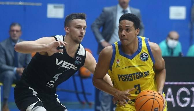 """""""VEF Rīga"""" cīņā par ceļazīmi uz izslēgšanas spēlēm FIBA Čempionu līgā tiekas ar """"Peristeri"""""""