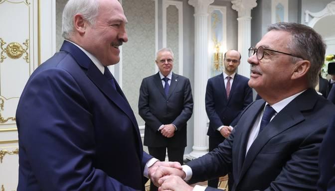 Lukašenko: Baltkrievija ir gatava sarīkot pasaules čempionātu hokejā bez Latvijas