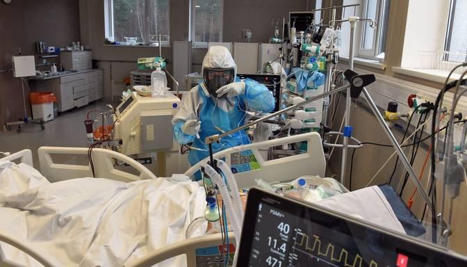 Pagājušajā diennaktī stacionēto Covid-19 pacientu skaits pieaudzis par 10, sasniedzot 1115