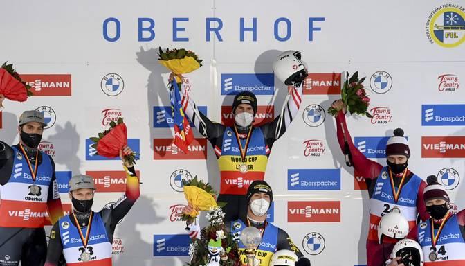 Eiropas čempioni brāļi Šici Pasaules kausa septītajā posmā izcīna bronzu
