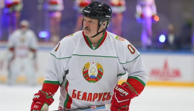 """Baltkrievija pauž nožēlu par """"nepamatoto"""" lēmumu atņemt Baltkrievijai 2021. gada pasaules hokeja čempionātu"""