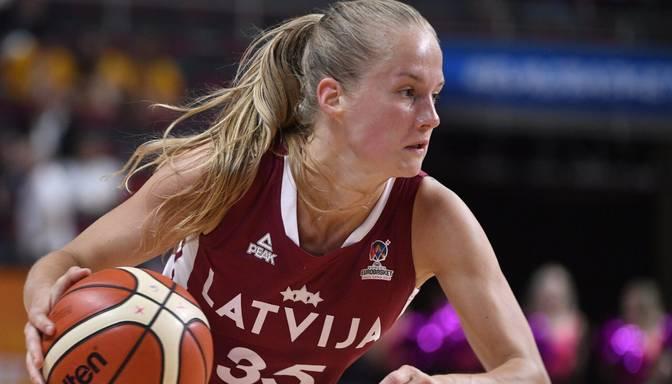 """Krēsliņa ar uzvaru un mača rezultatīvākās spēlētājas titulu noslēdz """"Castors"""" dalību šīs sezonas FIBA Eirokausā"""