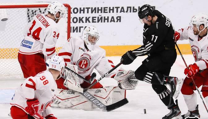 """Daugaviņa 14.vārti sezonā neglābj """"Vityaz"""" no zaudējuma"""