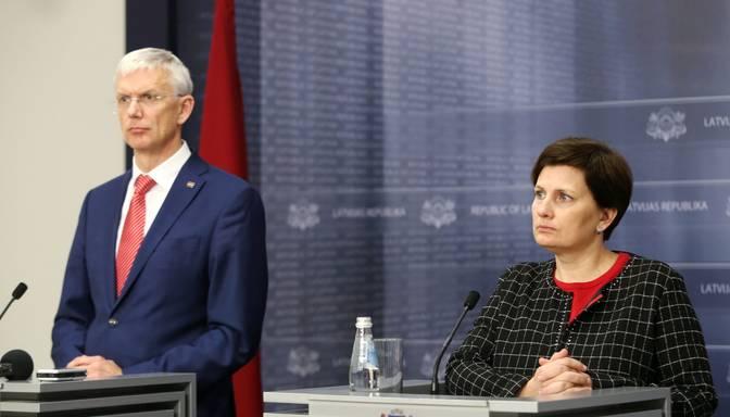 Kariņš parakstīs veselības ministres demisijas pieprasījumu