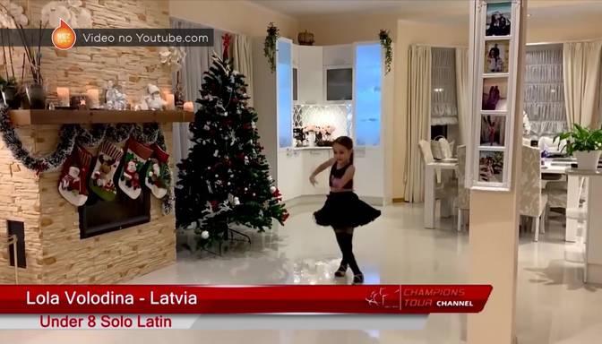 Spītējot pandēmijai, septiņus gadus vecā Lola Volodina plūc laurus starptautiskā konkursā