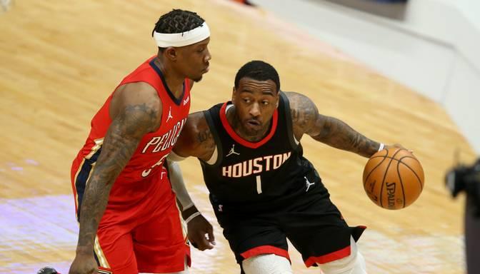 """Kurucam piecas minūtes """"Rockets"""" uzvarā pār """"Pelicans"""""""