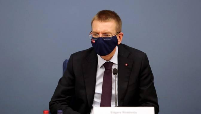 Rinkēvičs nosoda Navaļnija apcietināšanu, aicinot apspriest jaunas sankcijas pret Krieviju
