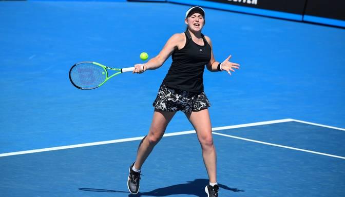 Ostapenko pirms Austrālijas atklātā čempionāta nepārvar WTA turnīra astotdaļfinālu