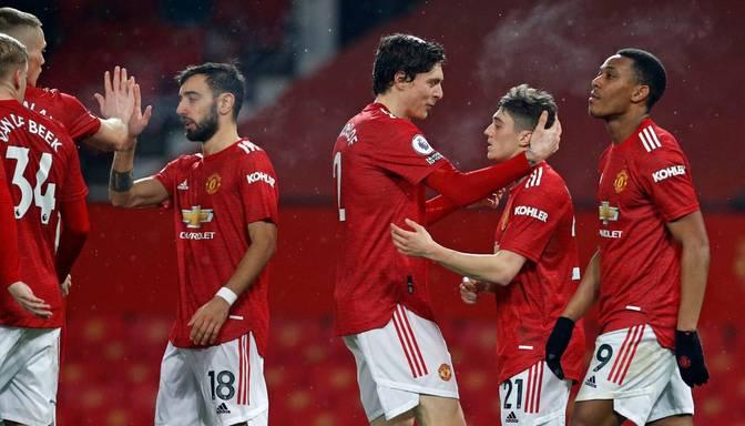 """Vārtu birums Mančestrā – """"United"""" vēsturiskā uzvarā sagrauj """"Southampton"""""""