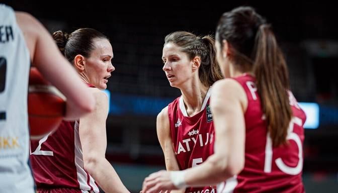 Uzvara! Latvijas sieviešu basketbola izlase izšķirošajā EČ kvalifikācijas turnīra spēlē pārspēj Vāciju