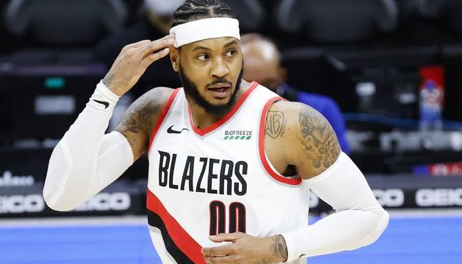Porziņģa bijušais komandasbiedrs Entonijs NBA visu laiku labāko punktu guvēju sarakstā paceļas uz 12.vietu