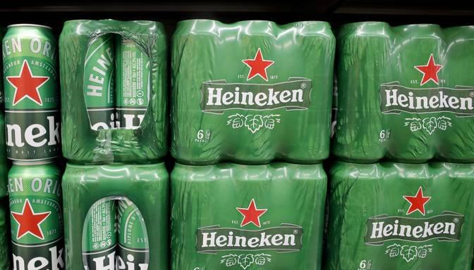 """Pasaules otrs lielākais alus ražotājs """"Heineken"""" likvidēs 8000 darbavietu"""