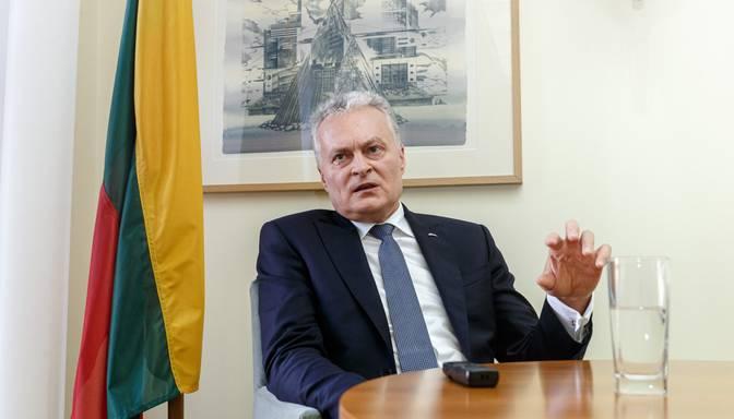Lietuvas prezidents aicina ES un pasaules līderus reaģēt uz reāla cietumsoda piespriešanu Navaļnijam