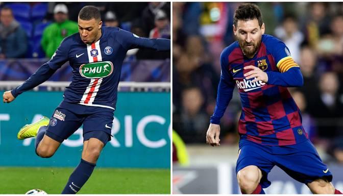 """UEFA Čempionu līgas astotdaļfinālu pirmajā dienā """"Barcelona"""" tiekas ar """"Paris Saint-Germain"""""""