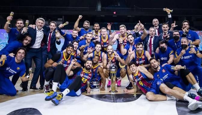 """Šmits un """"Barcelona"""" uzvar Madrides """"Real"""" un izcīna Karaļa kausu"""