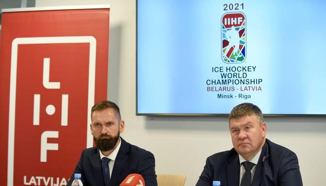 Aptauja: 54% iedzīvotāju atbalsta pasaules čempionāta hokejā rīkošanu tikai Latvijā