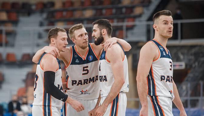 """Mejera """"Parma"""" FIBA Eiropas kausa astotdaļfinālā tiksies ar """"Rilski Sportist"""""""